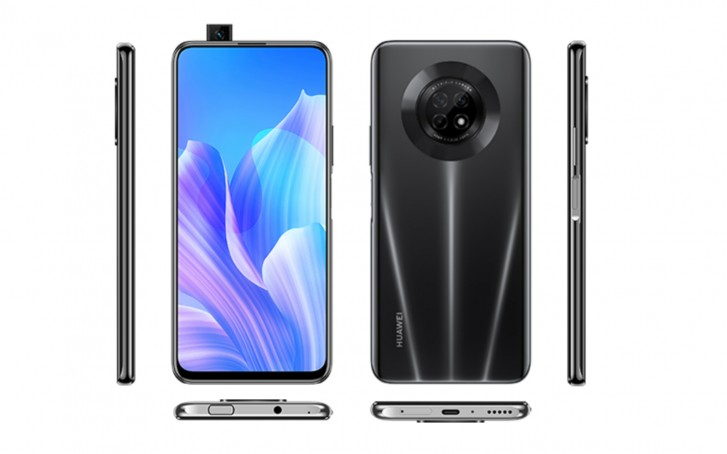 Huawei Enjoy 20 Plus renders leak showing Mate 30 Pro-like camera island
