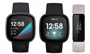 Fitbit Sense, Versa 3, and Inspire 2 appear in leaked renders with button-less design