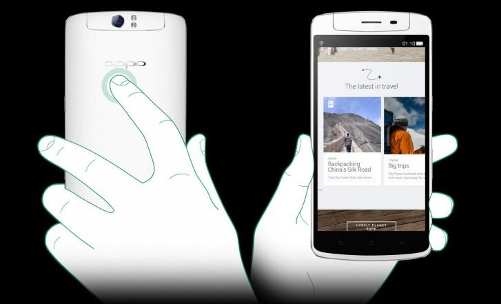 Vous pouvez faire défiler une page Web à l'aide de l'O-Touch