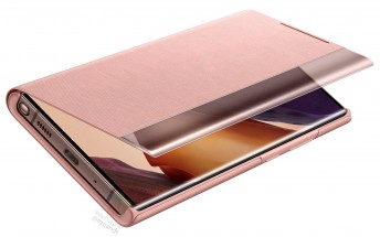 Samsung Galaxy Note20 case renders surface