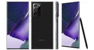 Samsung Galaxy Note20 Ultra in Mystic Black