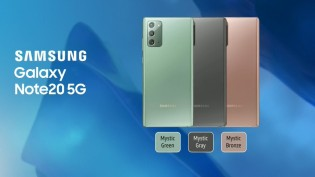 Color options for the Note20 duo