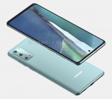 Samsung Galaxy S20 Fan Edition (unofficial CAD-based renders)