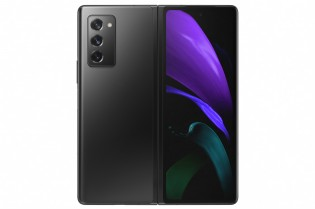 Galaxy Z Fold2 in Mystic Black