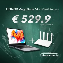 Germany: MagicBook 14 + router bundle (MagicBook 15 also available)
