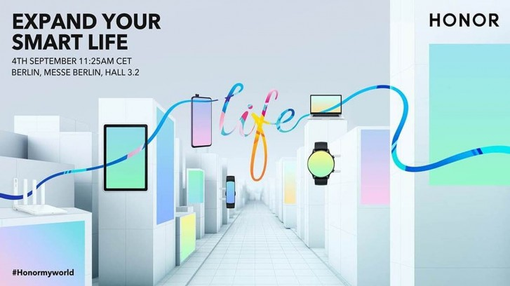 Honor to attend IFA, Global Press Conference scheduled for September 4