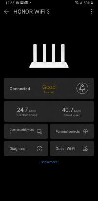 Huawei Ai Life main interface