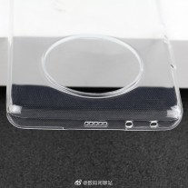 Huawei Mate 40 Pro case: note the volume rocker and the extra grille