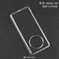 Huawei Mate 40 case: that hole on top looks just big enough for a 3.5 mm jack