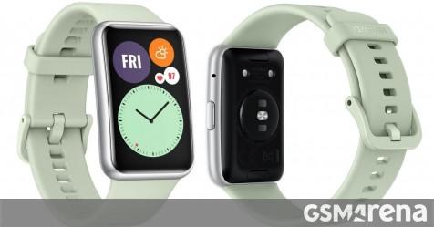 Huawei Watch Fit specs, price, and images surface - GSMArena.com news - GSMArena.com