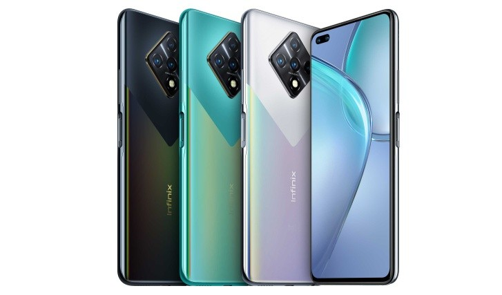 Infinix Zero 8 announced with 90Hz display, Helio G90T chipset