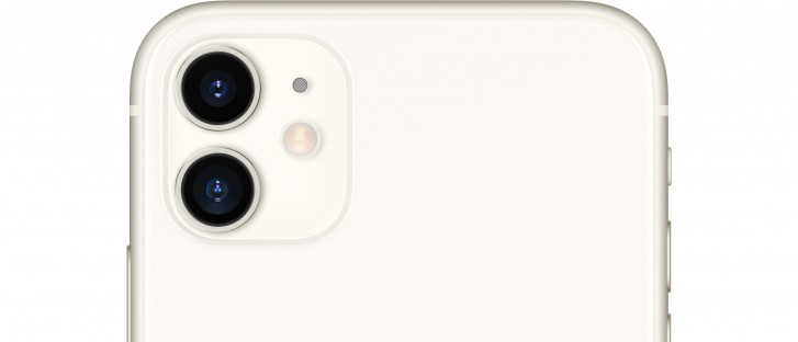 The dual lens camera of the current iPhone 11