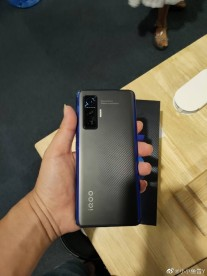 Alleged leaked images of iQOO 5 Pro and its retail box