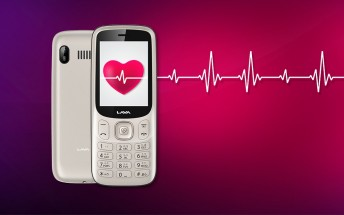 The Lava Pulse is a feature phone with a built in heart rate and blood pressure sensor