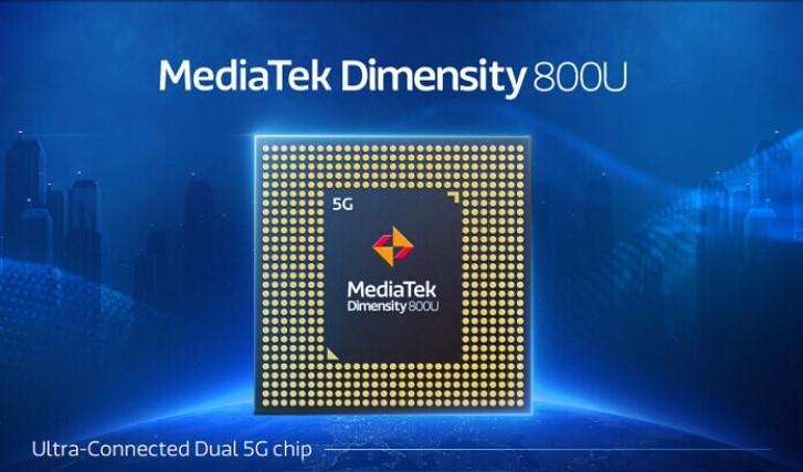 MediaTek Dimensity 800U announced with higher CPU speeds, dual 5G SIM support