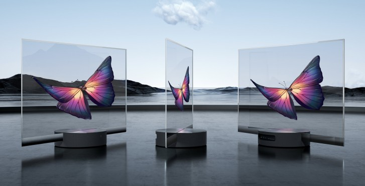 Xiaomi announces Mi TV LUX OLED Transparent Edition, the world's first mass-produced transparent TV