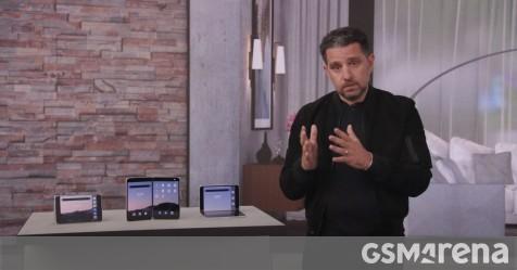 Xem Surface Duo đang hoạt động từ sự kiện báo chí của Microsoft