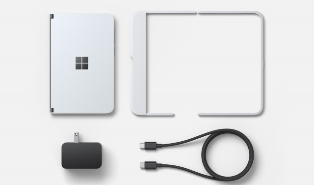 Surface Duo Box contents