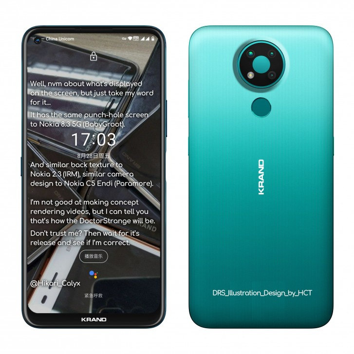 Nokia 3.4 renders and specs leak