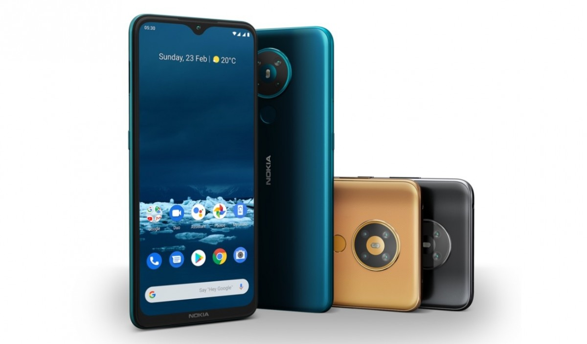 Android 11 comes to Nokia 5.3