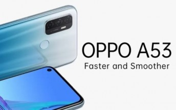 Oppo A53 arrives in India: Snapdragon 460, 90Hz HD+ screen, and 5,000 mAh battery