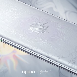 Oppo Reno4 Pro 5G Artist Limited Edition promo images
