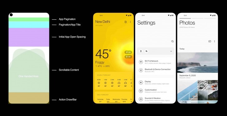 OnePlus details OxygenOS 11 design aesthetic