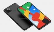 Google Pixel 4a 5G renders emerge, revealing larger display and familiar design