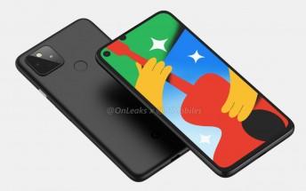 Google Pixel 4a 5G renders emerge, revealing larger display and familiar design
