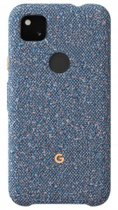 Google Pixel 4a fabric cases: Blue Confetti
