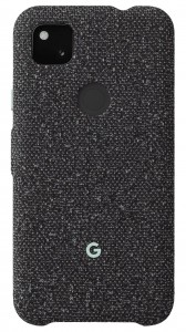 Google Pixel 4a fabric cases: Basically Black