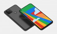 Google Pixel 5 renders show a design nearly identical to the 4a