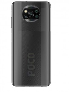 An alleged Poco X3 render