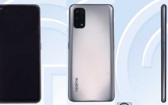 Two unknown Realme  5G midrangers  get certified