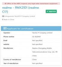 Realme C17, 7 Pro and 7i