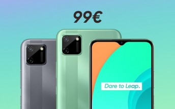 Realme C11 hits Europe for €99, early buyers get the Band for free