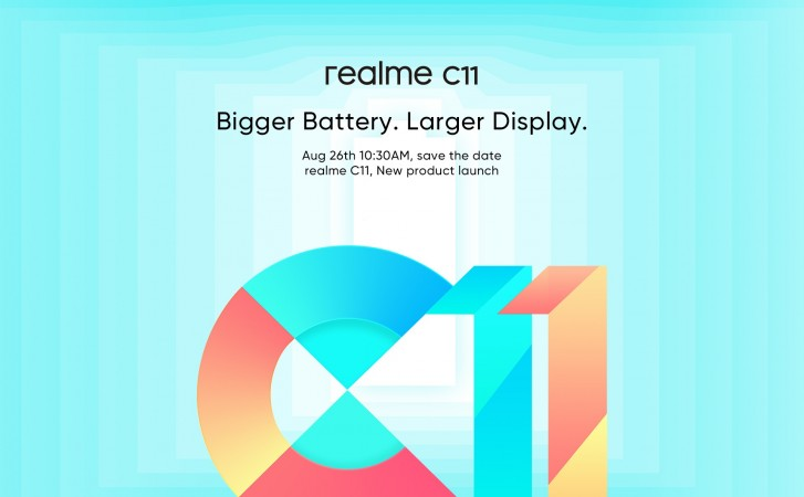 Realme C11 is coming to Europe on August 26