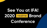 Realme confirms IFA 2020 appearance on September 4, will reveal brand and product strategy