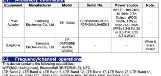 Samsung SM-M515F on FCC