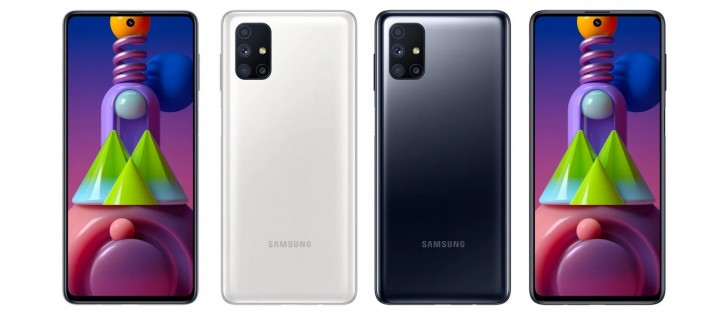 Samsung Galaxy M51 Press Renders Leak Gsmarena Com News