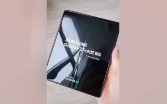 Samsung Galaxy Z Fold2 shows off its style in new hands-on video