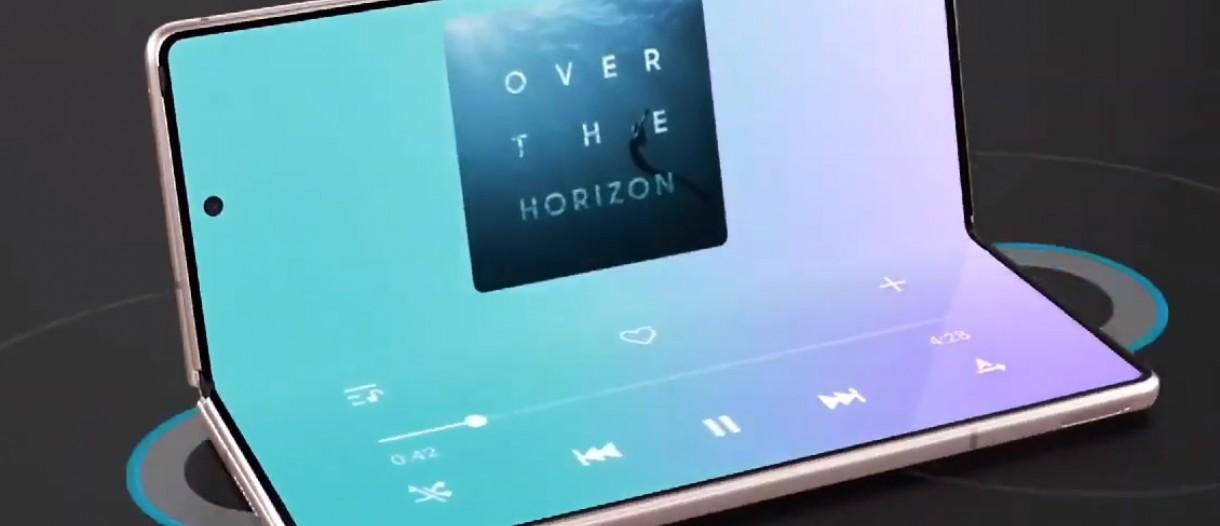 Samsung Galaxy Z Fold2 5g Ad Got Out A Little Early Gsmarena Com News