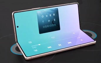Samsung Galaxy Z Fold2 5G ad got out a little early