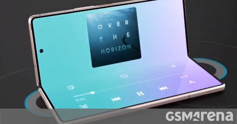 Samsung Galaxy Z Fold2 5G ad got out a little early - GSMArena.com news - GSMArena.com