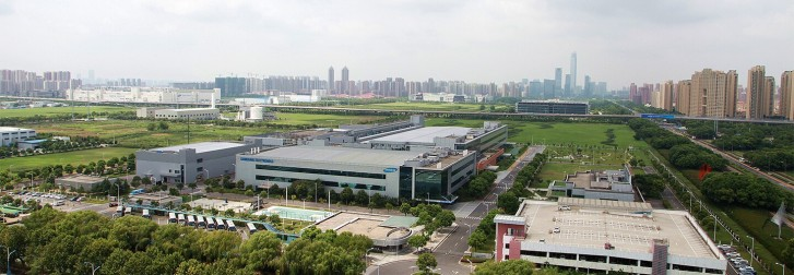 The (former) Samsung complex in Suzhou, China