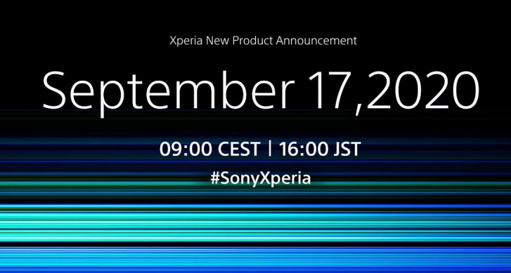 Sony will announce a new Xperia phone on September 17, the Xperia 5 II, perhaps?