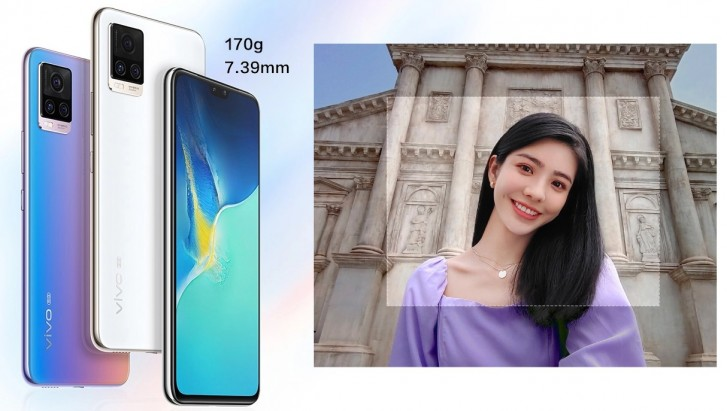 vivo S7 5G unveiled with S765G, 6.44'' OLED screen, 64 MP and 44 MP cams on the back and front
