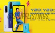 vivo Y20, Y20i full specs and images leak
