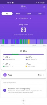 Xiaomi Mi Smart Band 5 screenshots