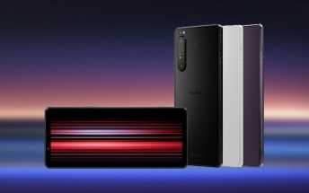 Sony unveils an Xperia 1 II with 12 GB of RAM in limited edition Frosted Black color